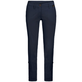 Jack Wolfskin Desert Pantaloni arrotolabili Donna, midnight blue